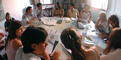 Intensive low cost Italian language course